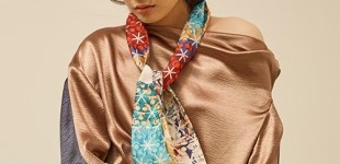 [블리다] [VLEEDA] mixcolor check scarf