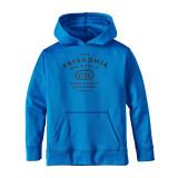 [정품] 파타고니아 키즈 보이스 후드티 그래픽 블루 Patagonia Boys' Graphic PolyCycle Hoody - Andes Blue Color