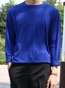 1+1 스판 심플 루즈 티셔츠 7color