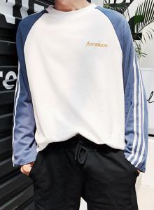 앤더슨 라인 나그랑 티셔츠 / anderson line raglan t (3color)