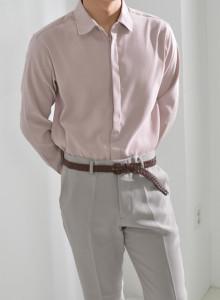 벨벳 히든 남자셔츠 [더블리].CM