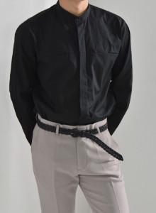 절개 차이나셔츠 [더블리].TR