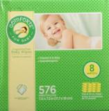 아기 물티슈 리필용 무향료 무알콜 무파라벤 72장/8팩 - 미국 컴포트 Comforts for Baby Fragrance Free Baby Wipes Refill