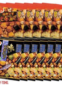 홋카이도 북해도의 맛 대팩 /4팩 일본 간식 마른 안주