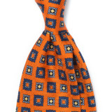 EUCLID PATTERN SILK PRINTED TIE 5TH
