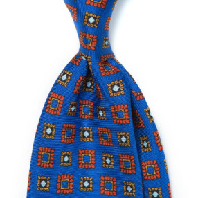 EUCLID PATTERN SILK PRINTED TIE 3RD