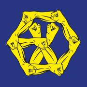 [포스터+지관통] (Korean) 엑소 (EXO) - 4집 리패키지 (The War The Power Of Music)
