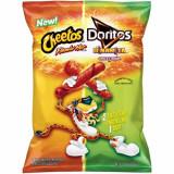 치토스 플라밍 앤 도리토스 치즈맛 240g Cheetos Flaming Hot & Doritos Dinamita Chile Limon Chips