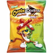 미국 치토스 플라밍 앤 도리토스 치즈맛 2봉지 240g