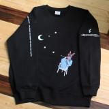 [PearlMoon]펄문 sweatshirts_PMN907 크루넥 스웻셔츠 3단쭈리 맨투맨
