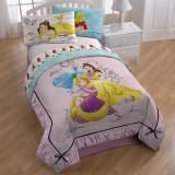디즈니 공주 이불 트윈 Disney Princess Comforter - Twin