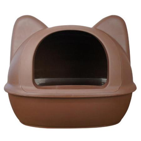 [아이캣] 점보 고양이화장실 - 브라운