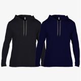 [무지] 얇은 후드 티셔츠 - USA fit (987)