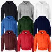 [무지] 플리스 후드 티셔츠 - USA fit (12500)