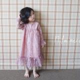 (가을신상)메르시 레이스원피스[핑크, 그레이] XS~XL