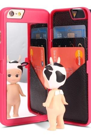 쿠미다 아이폰 미러 카드수납 케이스 아이폰7 7플러스 6s 6s플러스