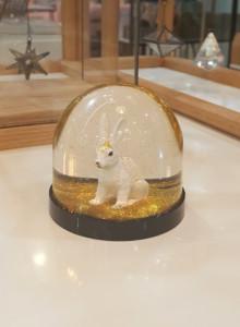&k Wonderball rabbit gold glitter / 토끼 원더볼