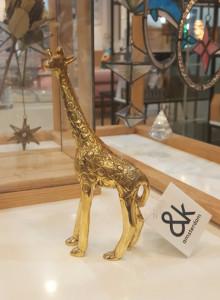 &k Giraffe brass small / 기린 오브제 스몰