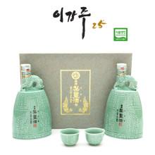 [조선 3대 명주] 이강주 특7호 / 400mlx2병 / 도수25%