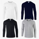 [무지] 긴팔 티셔츠 - Asia fit (76400)