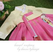 [한설한복]1588.S 달가라 핑크 여아한복