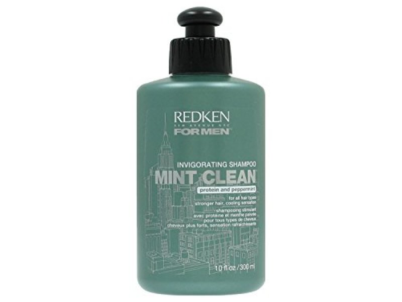 Redken Invigorating Mint Clean Shampoo for Men Hair Care for Strong Hair 300 ml : 맨즈월드 - 네이버쇼핑