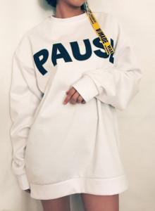 뉴욕 남자 여자 맨투맨 티셔츠 4color