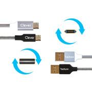 클레버 코어DS 마이크로5핀 퀵차지 고속충전케이블