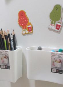 일본 자석 벽걸이 수납함