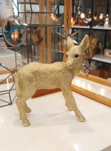 &K Coinbank deer gold / 사슴 저금통