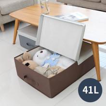 ★Black Sale★까사마루 언더베드 수납박스 41L (M) + 사은품 서랍수납박스(그린)1P