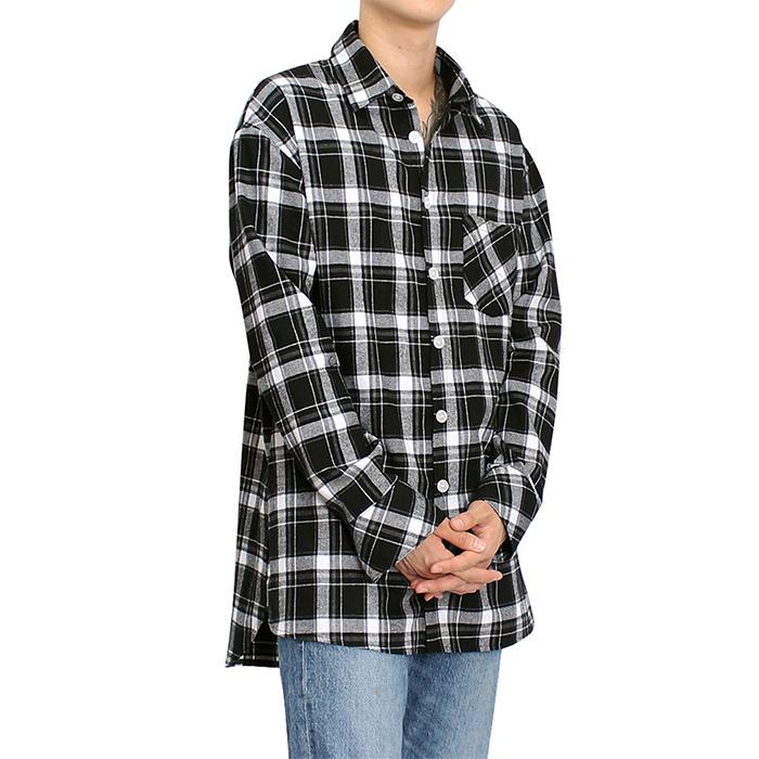 af5a8e9997e 클라코 플란넬 셔츠 V3 (블랙) / CLACO FLANNEL SHIRTS V3 (BLACK) : 클라코