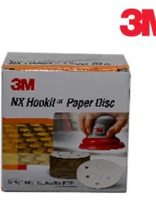 3M 샌더기용 사포 NX DISC 1각 100장샌더기용사포 사포 흡진페이퍼 벨크로페이퍼 찍찍이페이퍼 에어페이퍼 깔깔이페이퍼