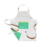 [프로듀스]앞치마 (Produce)Apple green canvas apron