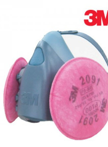 3M 마스크 7502 방진세트 7502+20913m3m마스크 방독마스크 방진마스크 7502 방독면 일반방독면 호흡보호구