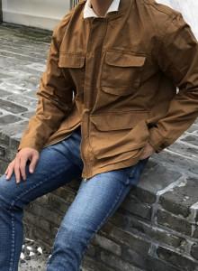 노카라 4포켓 자켓 (3color)