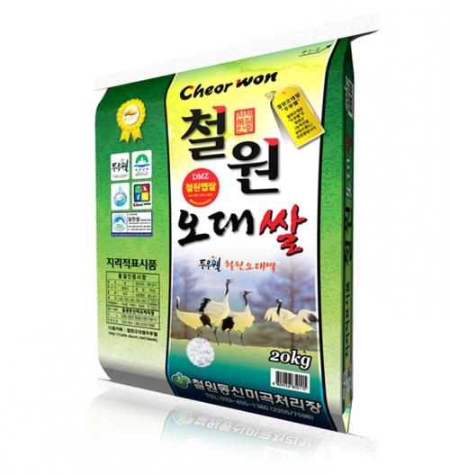 '두루웰'철원오대쌀10KG (2019 햅쌀 DMZ신선함을가득 )
