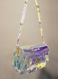 홀로그램 오로라 트렁크백 (2color)