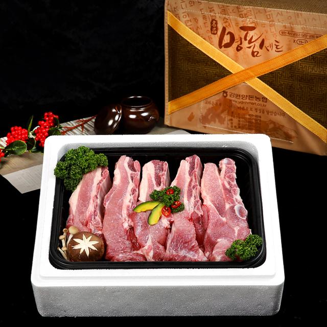 [강원산돈]돼지갈비세트