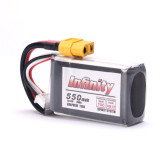 Infinity 4S 14.8V 550mAH 70C Lipo Battery with XT60 Plug Connector