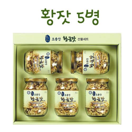 오봉산 황잣 (140g x 5병)
