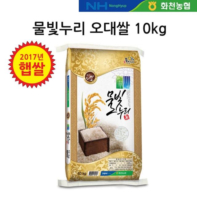 [2019년 햅쌀] 물빛누리 화천 오대쌀 10kg