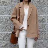 울 핸드메이드 자켓 (2color)