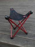 (오늘하루특가) 가볍고 튼튼한 백패킹 미니의자 로벤스 지오그래픽 등산용 접이식 미니의자 - 레드/옐로우 490001