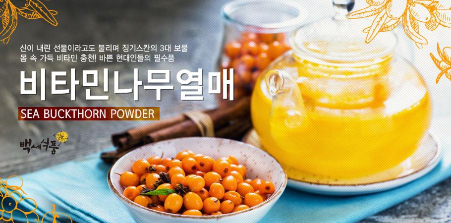 백세식품 비타민나무열매가루 (250g/500g) 무료배송