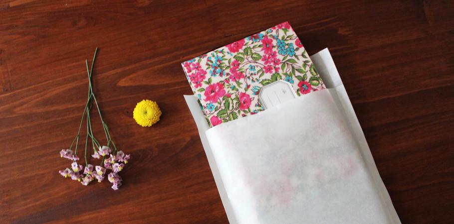 [젠틀웨이브] 반투명 봉투 사진,엽서,선물 포장