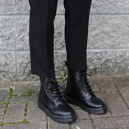 여자 플랫 워커 숏부츠 (2.5cm)