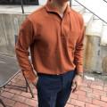 원피스칼라 PK셔츠 (4color)