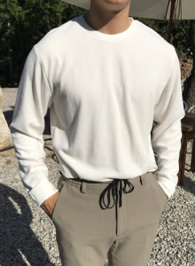 헤비 크루넥 티셔츠 (5color)