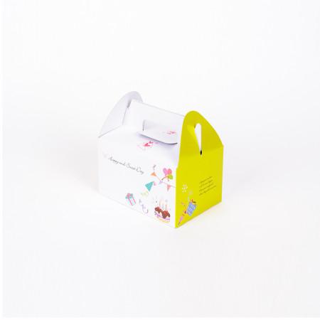 생크림 소(小연두) (조각케익상자/조각케익박스/조각케익박스/cake box/2익상자/케익박스/케익포장/cake box/케이크 상자/케이크 박스/케이크 포장))